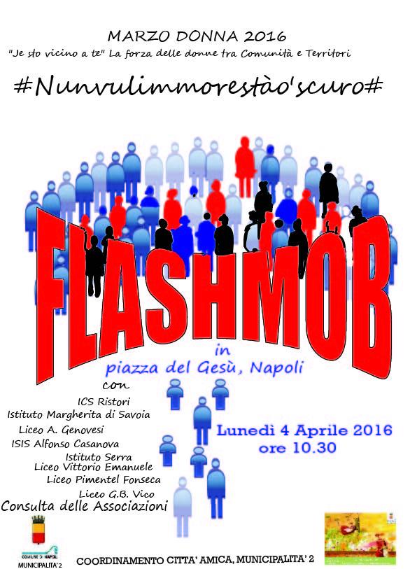locandina flashmob