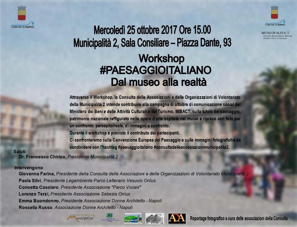 Invito Workshop Municipalità 2