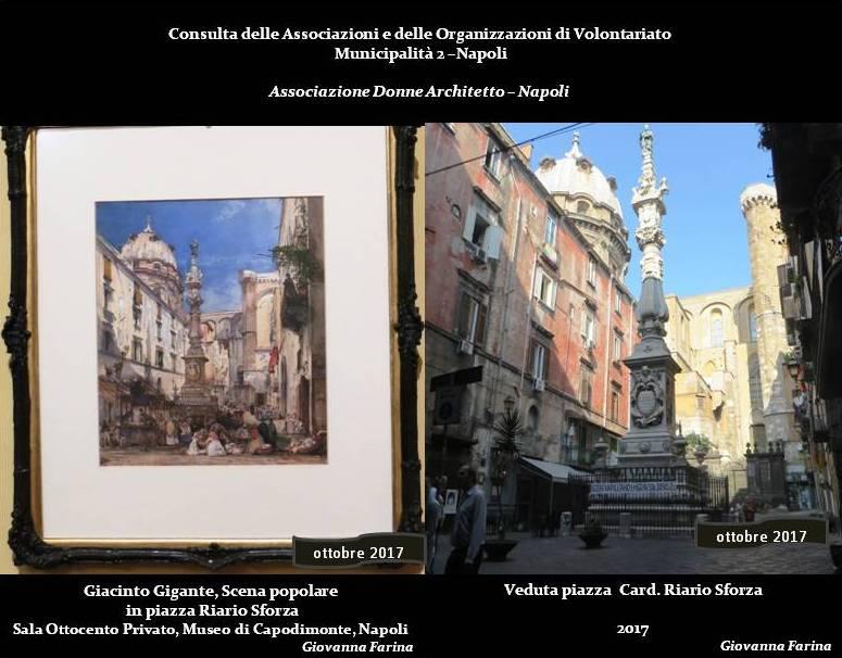 piazza Riario Sforza Napoli